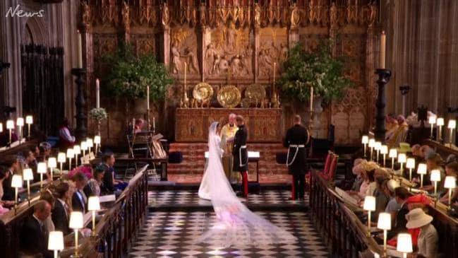 Prince Harry and Meghan's Royal Wedding May 19,2018