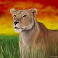 Queen Of The Pride - cherl12345-tamara fan art