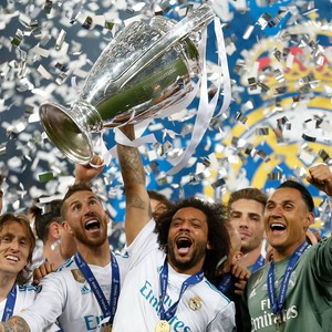 Real Madrid's 13th UEFA Champions League Celebration picture