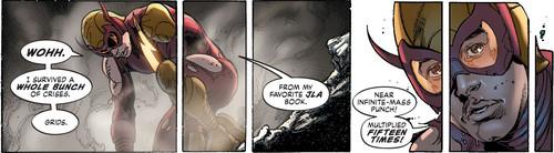 DC Comics achtergrond entitled Red Racer Justice Incarnate member