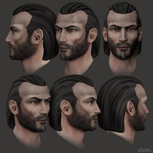 Revan's 3D face