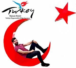 Rojvandemir,rojvan,demir,turkey,sanatci,yakisikli,erkek,muzisyen,turk bayragi,turkiye devleti,turk