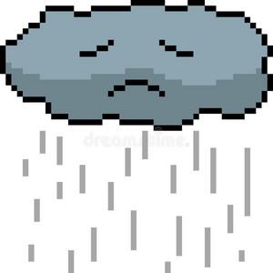 Sad rain облако