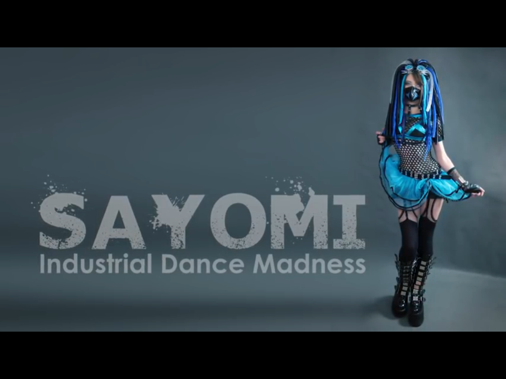 Cyber Gothic Images Sayomi Industrial Dance Madness Blue Outfit HD Wallpaper And Background Photos