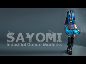 Sayomi Industrial Dance Madness Blue Outfit