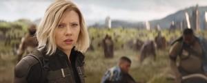 Scarlett in Avengers Infinity War