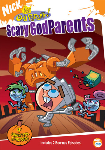 The Fairly OddParents 壁紙 entitled Scary Godparents