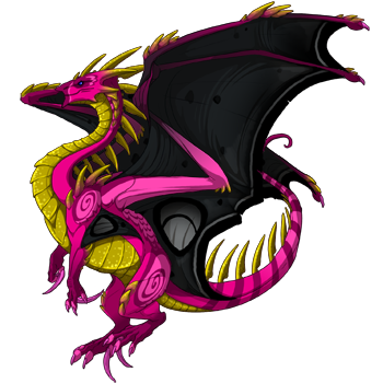 Flight Rising wallpaper entitled Scryed Dragon