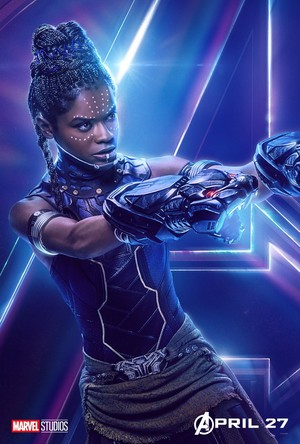 Shuri - Avengers Infinity War character poster
