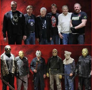 Six Jasons @ Texas Frightmare 2018