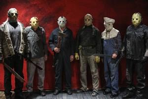 Six Jasons @ Texas Frightmare 2018