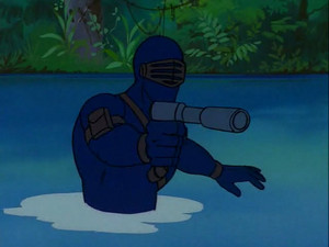 Snake Eyes Sunbow G.I.Joe cartoon series
