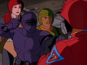 Snake Eyes, Zap and Scarlett Sunbow G.I.Joe cartoon series