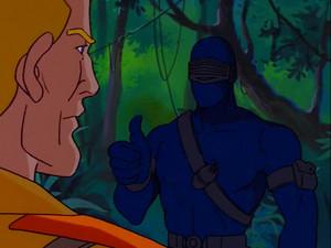Snake Eyes and Duke Sunbow G.I.Joe cartoon series