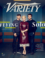 Solo: A Star Wars Story Cast at Variety Cover - Ron Howard, Emilia Clarke and Alden Ehrenreich - star-wars photo