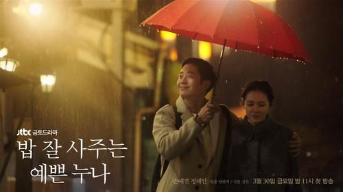 Korean Dramas پیپر وال titled Something in the Rain Poster
