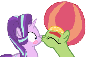 Starlight Glimmer with Afro cây Hugger