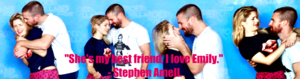 Stephen Amell and Emily Bett Rickards perfil Banner - For Elly (lunajrv)