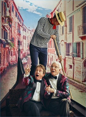 Steve Martin and Martin Short - GQ Comedy Issue Photoshoot - 2018