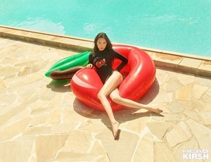 Sunmi is ready for the beach with 'HEAD' in a seaside photoshoot