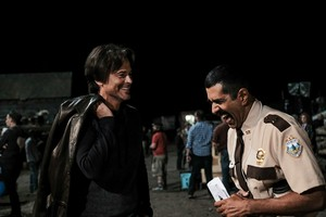 Super Troopers 2 - Behind the Scenes - Rob Lowe and geai, jay Chandrasekhar