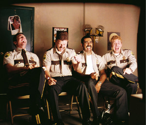 Super Troopers - Rabbit, Mac, Thorny and Foster