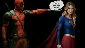 Supergirl achtergrond - Deadpool 2