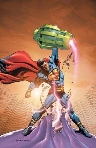 DC Comics achtergrond titled Superman Justice Incarnate member