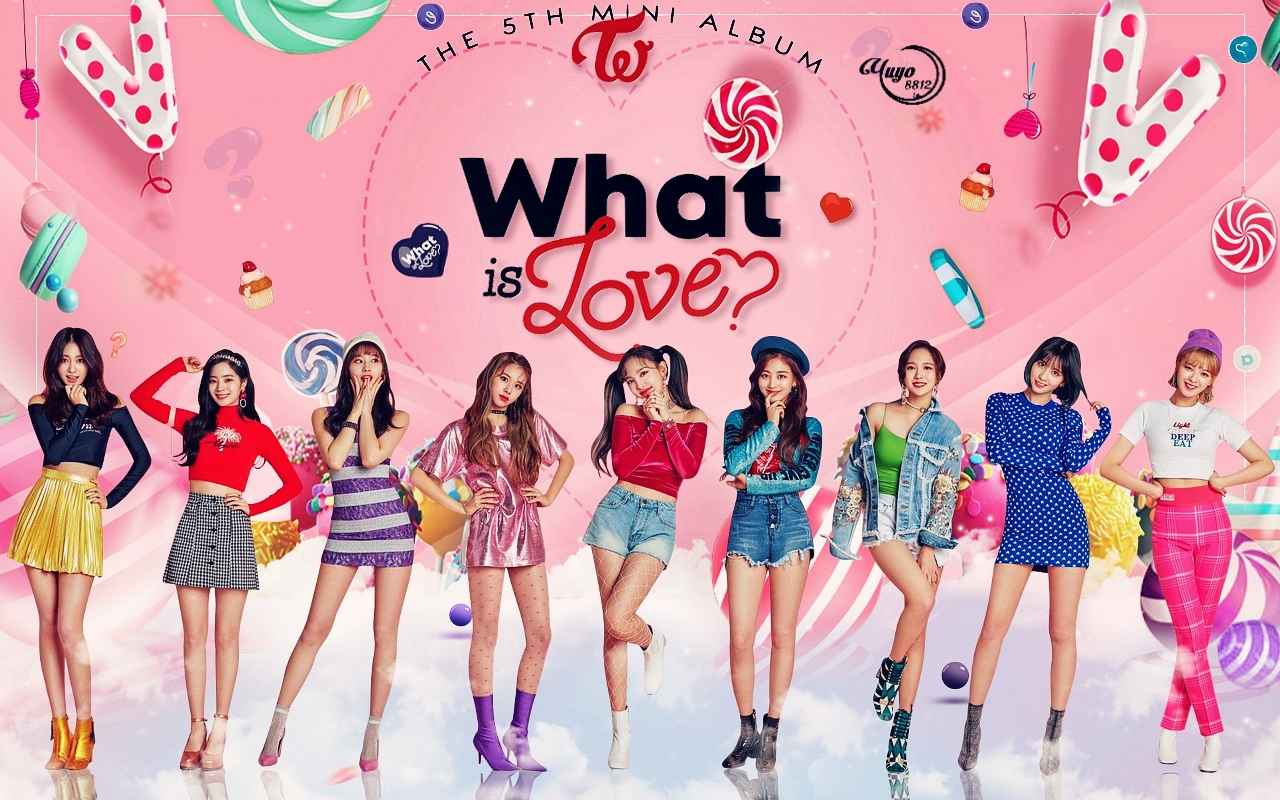 TWICE WHAT IS Cinta #WALLPAPER