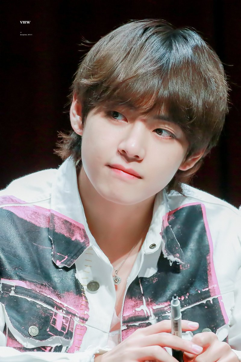Taehyung in Mullet