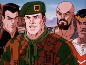 Taurus, Mercer, Red Dog and Lieutenant elang, falcon G.I.Joe The Movie