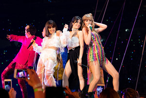 Taylor, Camila Cabello and Charlie XCX