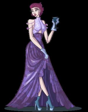Tecna Ball kanzu, gown