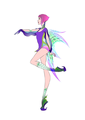 Tecna New Transformation - the-winx-club fan art
