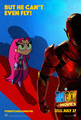 Teen Titans Go! to the Movies Poster: The Flash - But he can't even fly!