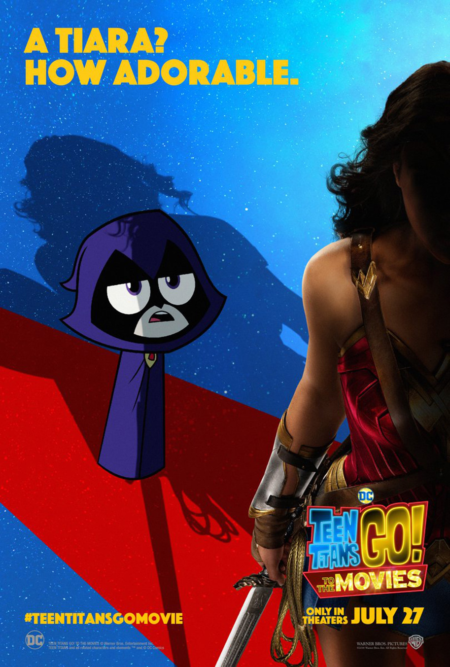 Justice League Movie Images Teen Titans Go To The Movies Poster