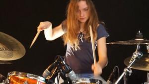 Teen drummer