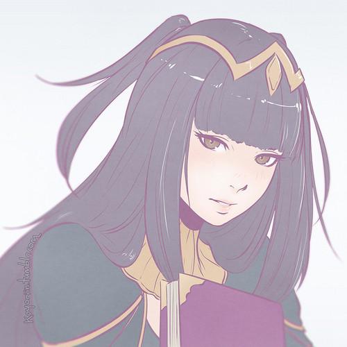 огонь Emblem Обои titled Tharja [FE:Awakening]