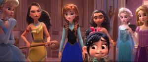 The 디즈니 Princesses in Ralph Breaks The Internet