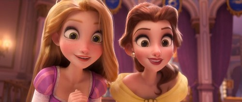 Disney Princess پیپر وال called The Disney Princesses in Ralph Breaks The Internet