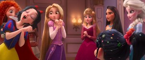 The disney Princesses in Ralph Breaks The Internet
