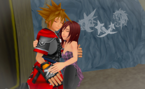 The jantung Warm and Romantic Feelings Sora and Kairi MMD Finale