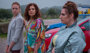 The Other One BBC2 with Ellie White, Rebecca Front and Lauren Socha