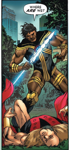 DC Comics achtergrond called The Thunderer Justice Incarnate member