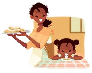 Tiana's mom life