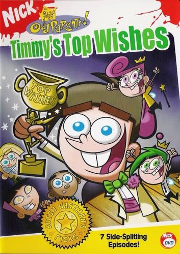 The Fairly OddParents karatasi la kupamba ukuta called Timmy's juu Wishes