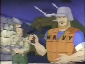 Topside and Duke Dic G.I.Joe cartoon series