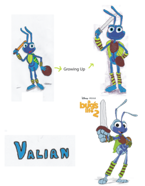 Valian - A Bug's Life 2