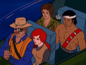 Wild Bill, Scarlett, Quick-Kick and Lady Jaye Sunbow G.I.Joe cartoon series