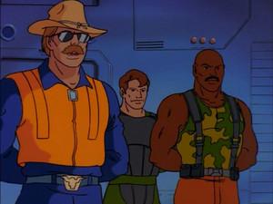 Wild Bill, Tripwire and Roadblock Sunbow G.I.Joe cartoon series